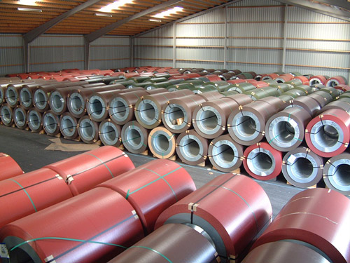 High quality roof steel in rolls