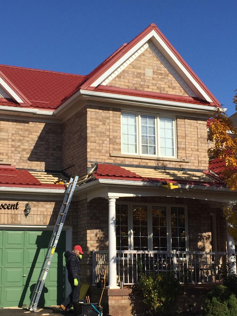 metal roofing repair toronto
