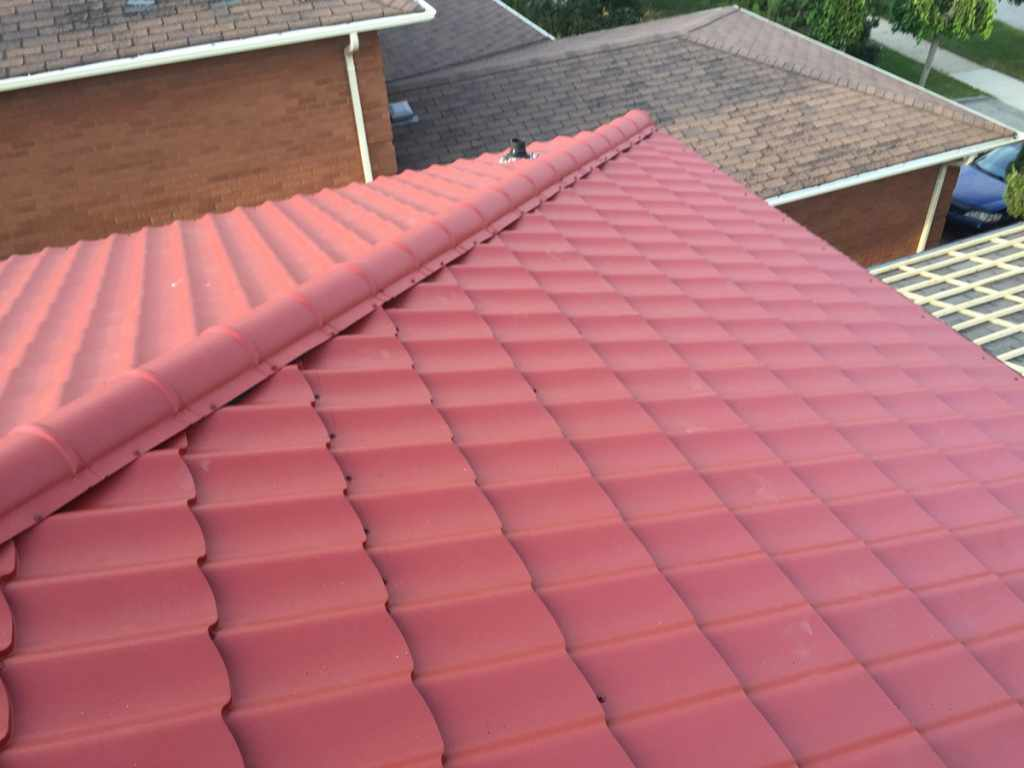 Metal Roof Project by Dream Roof Toronto