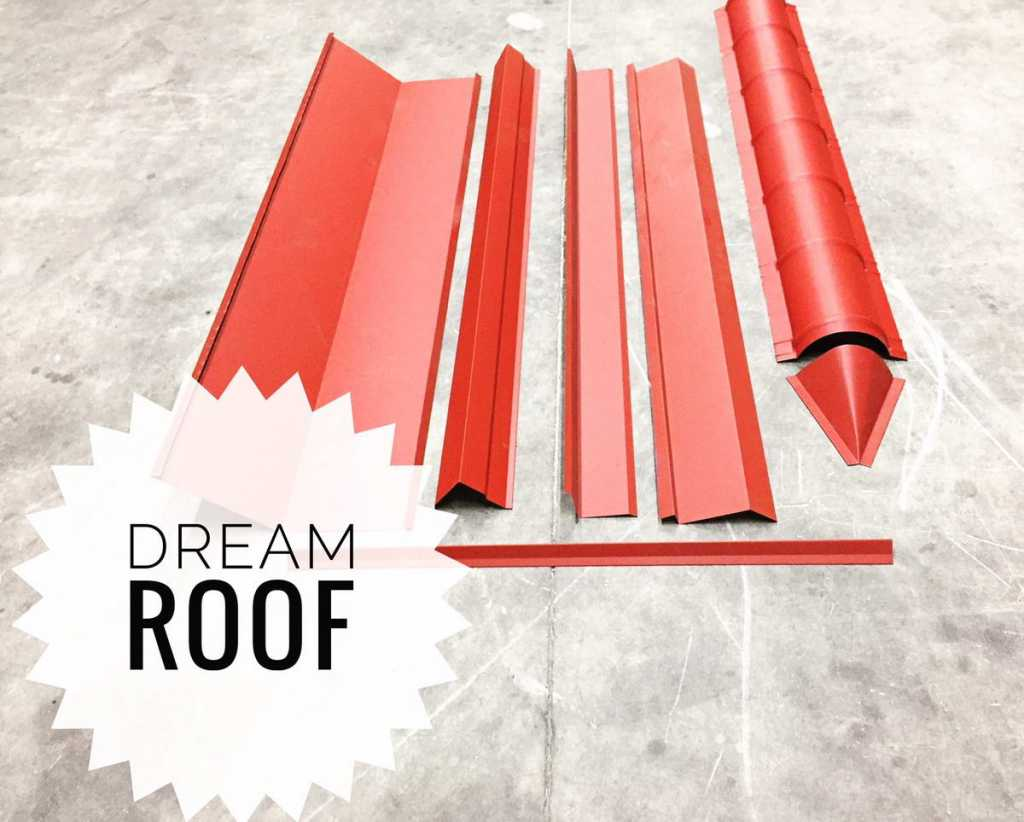 dream roof sample materials