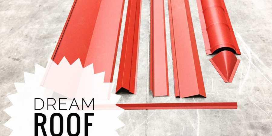 dream roof sample materials