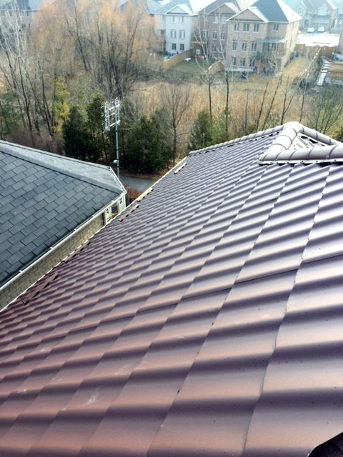 steel roof installation toronto