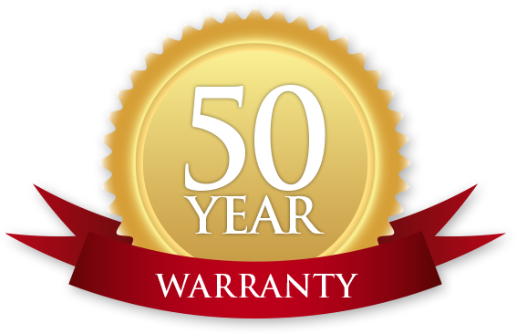 Photo of 50 Year Warranty on Roofing