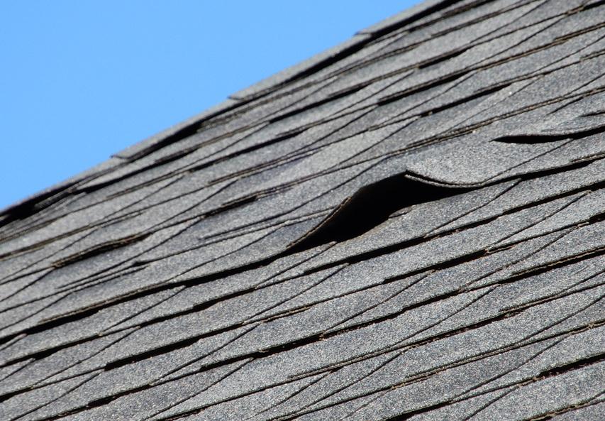 Old Asphalt shingles