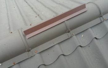 Metal roof snow defender