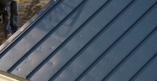 Metal Roof Hail Damage
