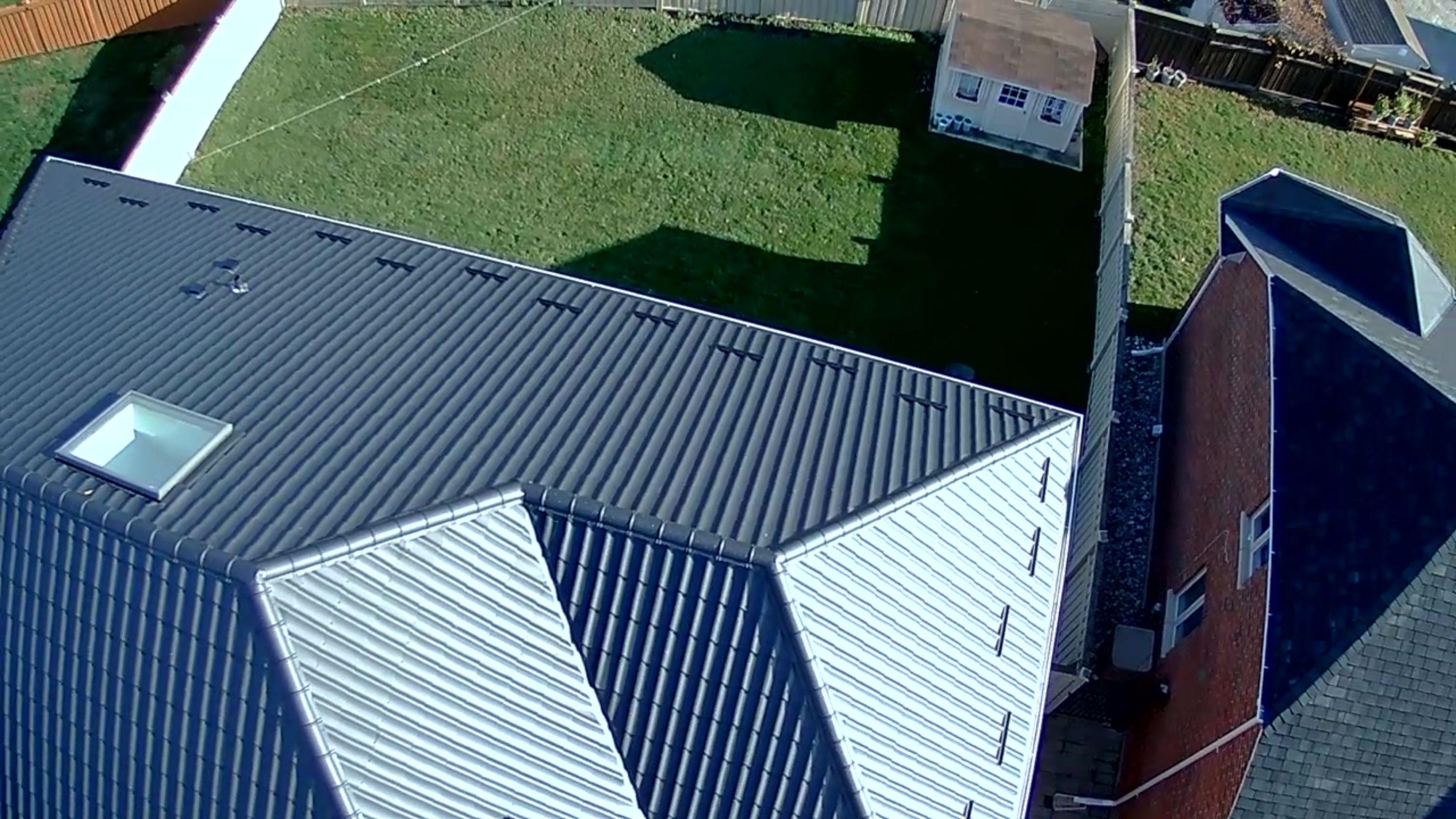 sheet metal roofing installation