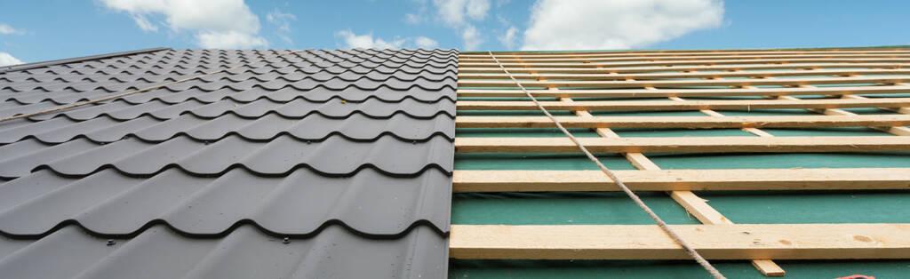New Metal Roof Installation in Progress Barrie