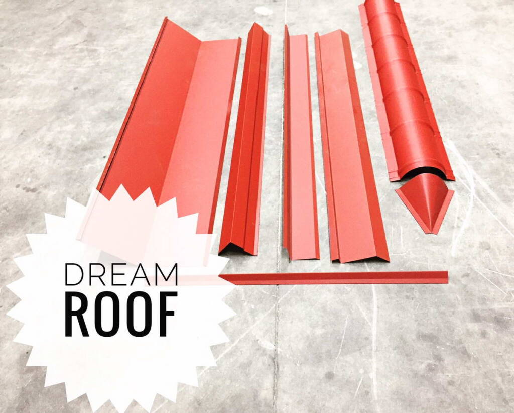 Red Metal Roof Materials for Installation Barrie